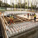 Bubble deck installation (Boora Architects)