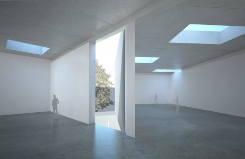 Level two galleries (Courtesy Steven Holl Architects)