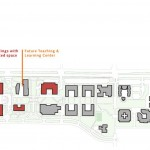 A plan of the campus (Boora Architects)
