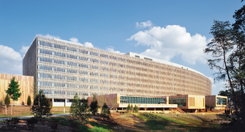 SOM'S Census Bureau in Suitland Maryland (Arch Photo)