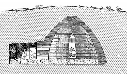 Treasury of Atreus in Greece. (Wikipedia)