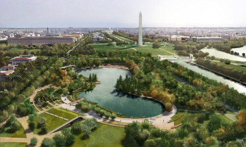 Constitutional Gardens proposal by Nelson Byrd Woltz and Paul Murdoch.