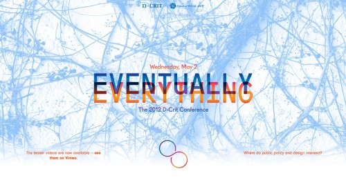 Eventually Everything D-Crit Conference May 2