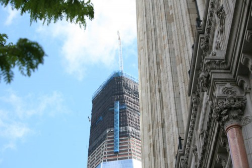 One World Trade from West Street.