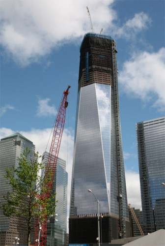 One World Trade will surpass the Empire State next week.