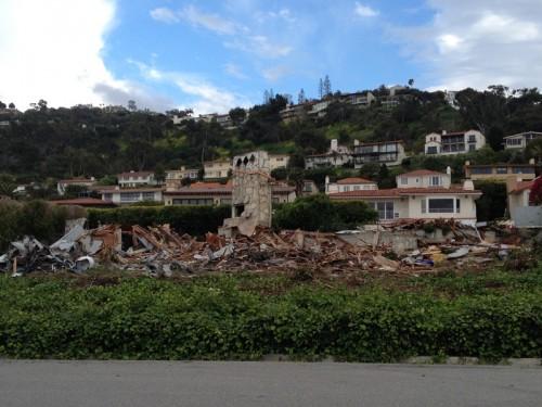 Moore House after demolition (Sarah Farris-Gilbert)