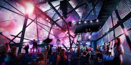 Original Music Workshop Performance Space (Courtesy Bureau V)