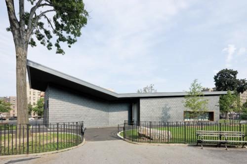 Toshiko Mori's Poe Park Visitor Center may finally get staffed. (Courtesy Iwan Baan)
