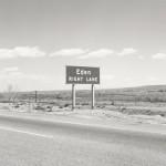 Interstate 25, Eden, Colorado, 1968. (Robert Adams/LACMA)