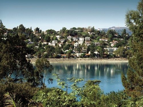 Silver Lake Reservoir, home of the Neutra Run-Walk for Health.
