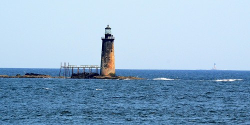 Maine's Halfway Rock Light (Flickr/Random Factor)