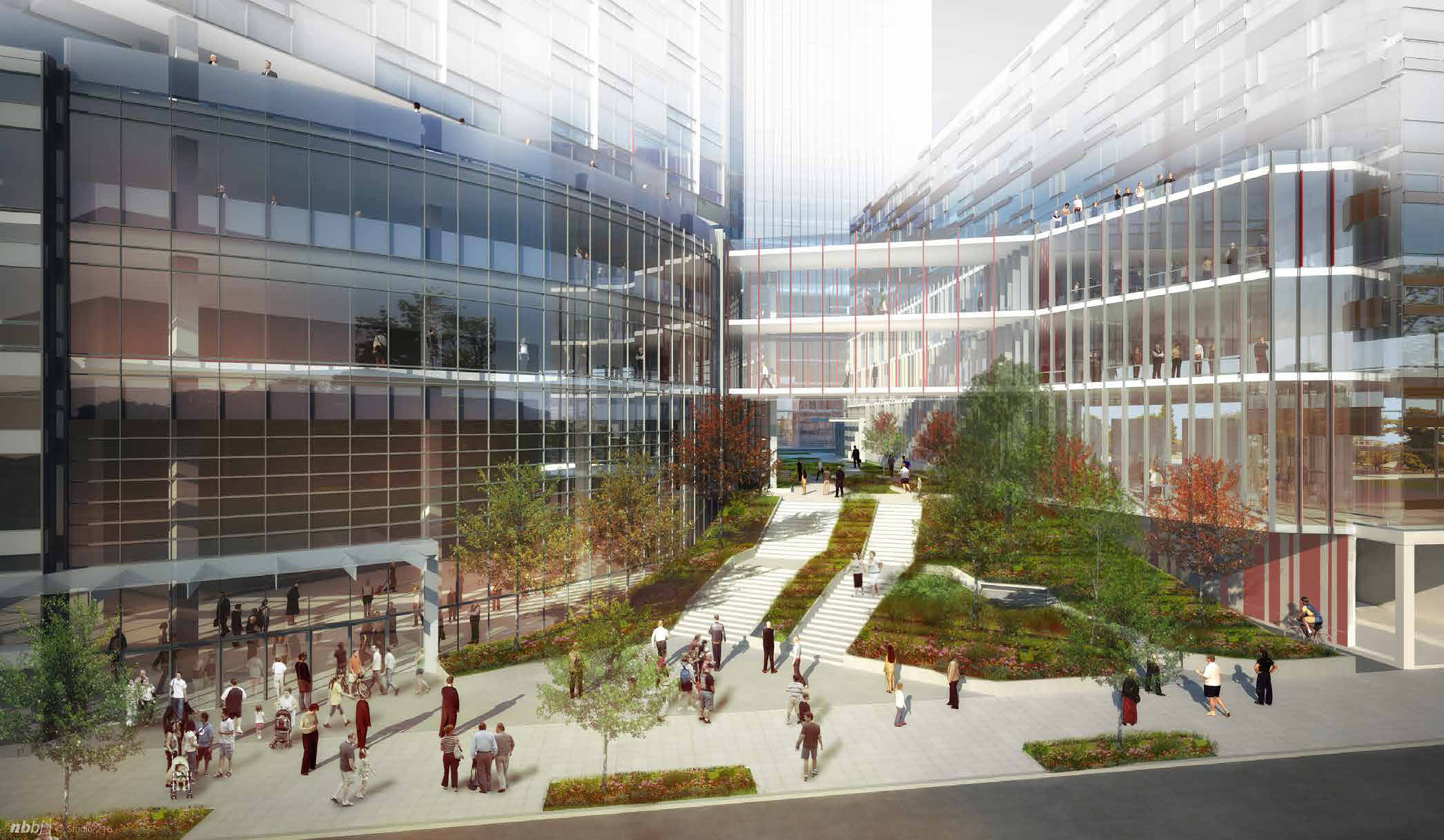 First Look At NBBJs New Amazon Complex In Seattle