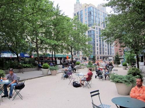 Bogardus Plaza. (Branden Klayko / AN)