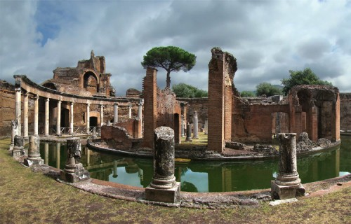 The Maritime Theatre at Hadrian's Villa. (Courtesy Wikimedia)