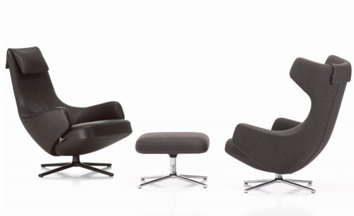 Antonio Citterio's Repos chairs and Panchina bench for Vitra.