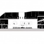 Section of the Marina Abramovic Institute by OMA. (Courtesy OMA)