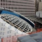 The center's parapet (MTA)