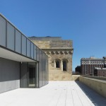 Yale University Art Gallery, Old Yale Art Gallery building, view of the Margaret and Angus Wurtele Sculpture Terrace prior to installation. (Christopher Gardner)