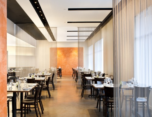 Flour Restaurant, a recent project by Cleveland Arts Prize winner Steven Kordalski's firm.