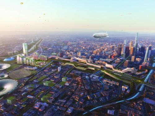 Grimshaw and Gruen's vision plan for Union Station. (Courtesy Grimshaw/Gruen)