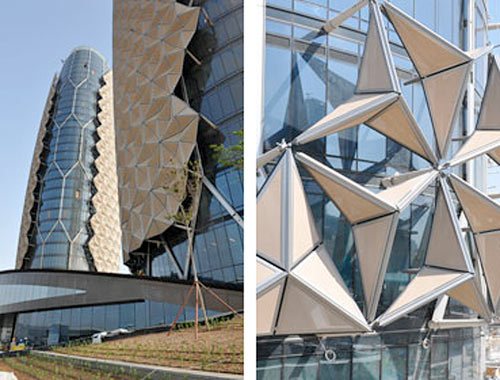 Al Bahar Towers (Courtesy CTBUH)
