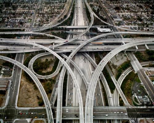 Edward Burtynsky, Highway, Los Angeles, California, USA, 2003. (Edward Burtynsky)