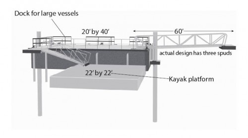 Eco Dock designed buy Huntley Gill, Guardia Architects for Bay Ridge.