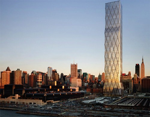 Extell's One Hudson Yards. (Courtesy Extell)