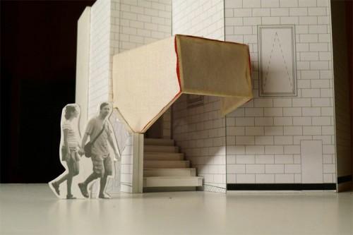 "Oh.No.Sumo's ""Stairway Cinema"" in New Zealand. (Courtesy Oh.No.Sumo)"