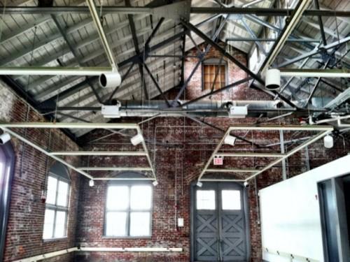 Building 11 interior. (Courtesy NYCEDC)