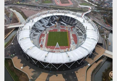 London Olympic Stadium by Populous.