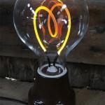 The Alva lamp. (Courtesy Luke Anderson)