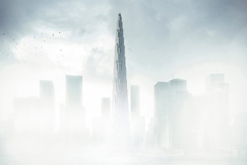 Many details of BIG's supertall tower in Tianjin are still shrouded in mystery. (Courtesy BIG)
