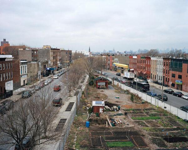 Urban plan Brooklyn New York