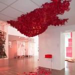 Devils workshop, installation art by Rebecca Niederlander. (Kenneth Johansson)