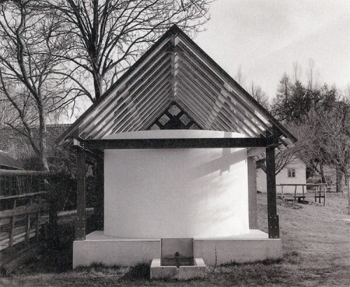 House for the two troughs, front view. (Courtesy Gladstone Gallery)