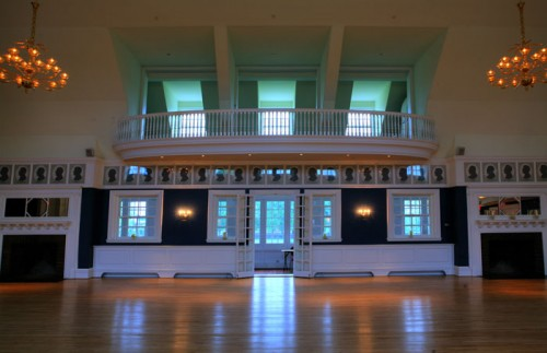 Detail of the ballroom from McKim Mead and White's Germantown Cricket Club