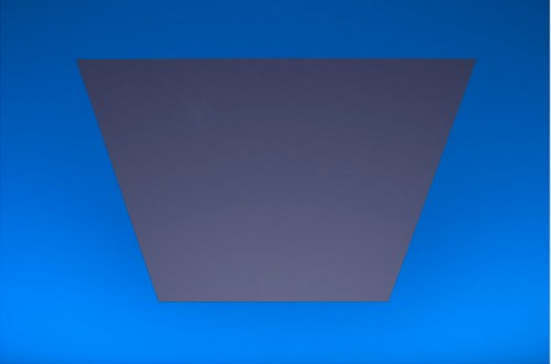 From below, viewers experience Turrell's presentation of light and geometry. (Courtesy Rice University)