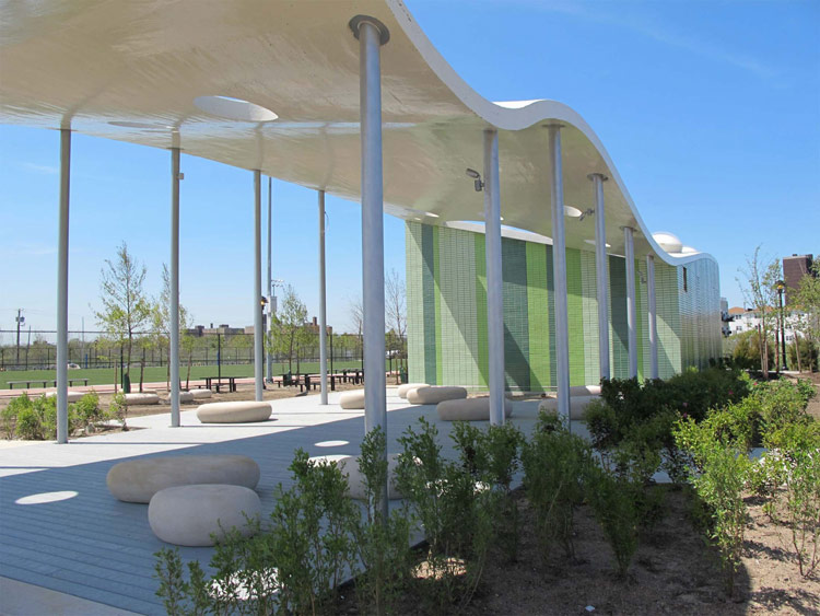 Wxy S Beach Pavilion Catches A Wave In The Rockaways
