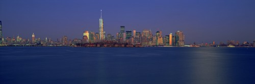One World Trade as seen from Staten Island.