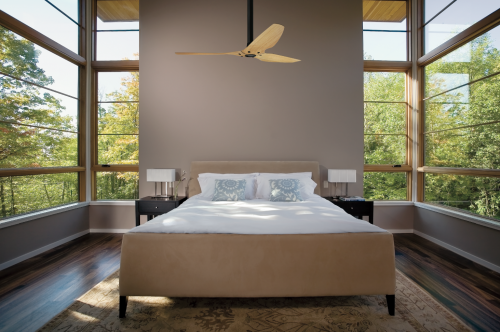 A ceiling fan that's actually as energy-efficient as it claims.