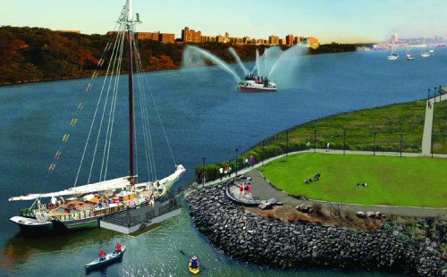 The Eco-Dock proposed for Dykman Marina. (Coutesy Guardia Architects)