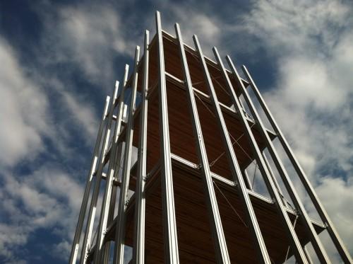 Chris Burden's <em>Small Skyscraper</em> (Sam Lubell / AN)