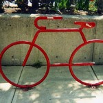 A bike rack in Cleveland. (Spacing Magazine/Flickr)