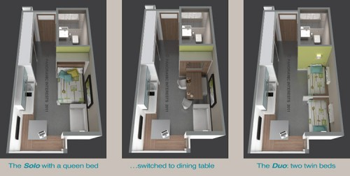 Panoramic Interests micro-apartment proposal at 1321 Mission Street in San Francisco. (Courtesy Panoramic Interests)