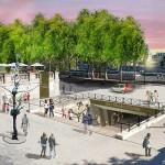 Right Bank: Liaison jardins des Tuileries/Musée d'Orsay (Courtesy APUR/J.C. Choblet)