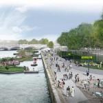 Left Bank: Port des Invalides-Concorde (Courtesy APUR/J.C. Choblet)