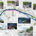 Seine Reconquest Map (Courtesy APUR/J.C. Choblet)