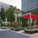 Downtown Cleveland's Perk Park, post-renovation. (Scott Pease / Pease Photography)