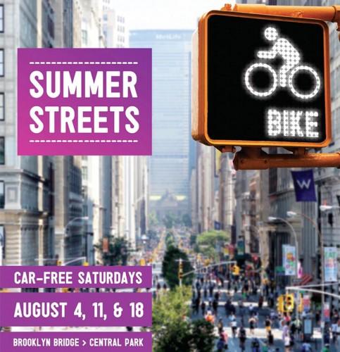 Summer Streets 2012. (Courtesy NYC DOT)